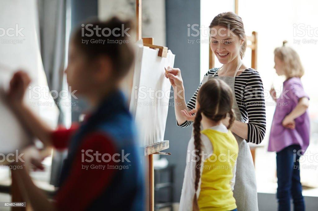 La mentoría - foto de stock