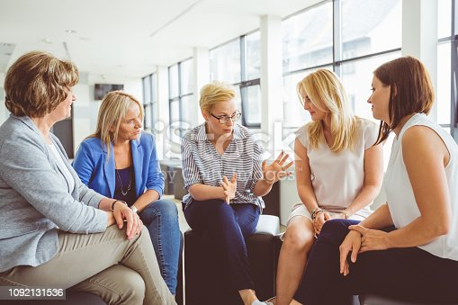 istock Mentoring session for women 1092131536