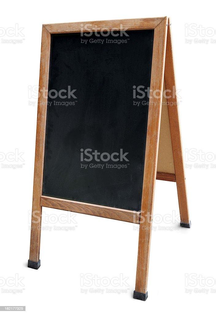 Menu board royalty-free stock photo