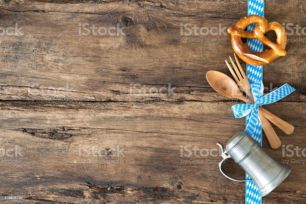 Menü für bayerische Spezialitäten – Foto