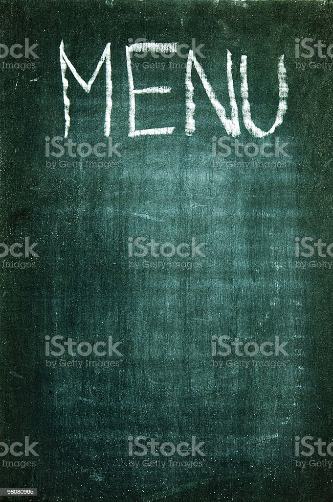 menu royalty-free stock photo