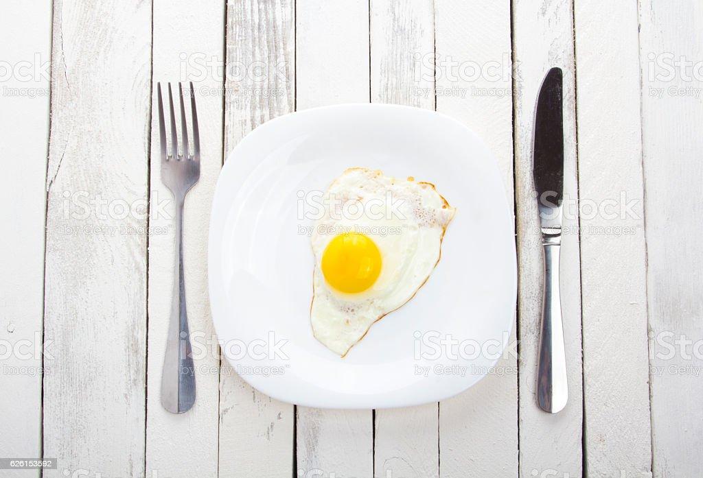 menu plate mug fork knife vintage rustic white background stock photo