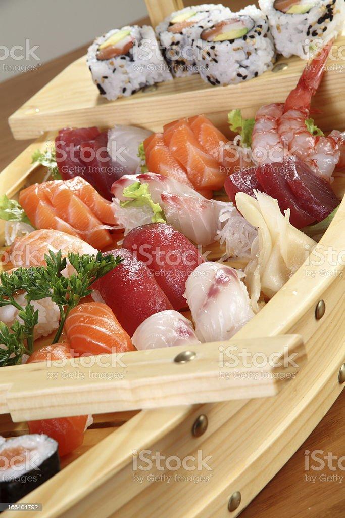 menu sushi royalty-free stock photo