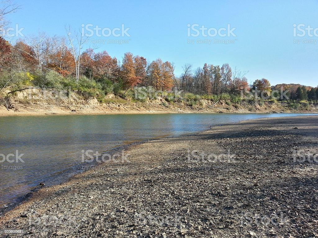 Meramec River stock photo