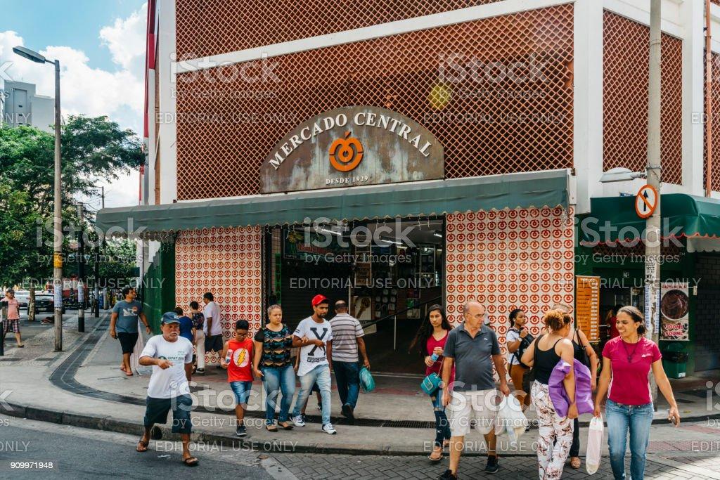 Mercado Central, Belo Horizonte, Minas Gerais, Brazil stock photo