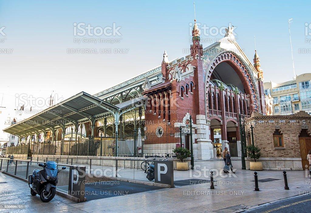 Mercado de Colon historic market Valencia Spain stock photo