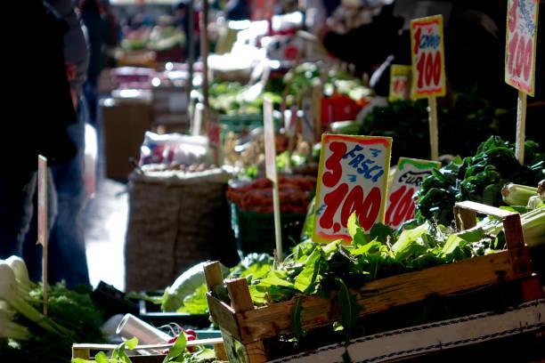 Mercato di Napoli Italy Market Naples Italy mercato stock pictures, royalty-free photos & images