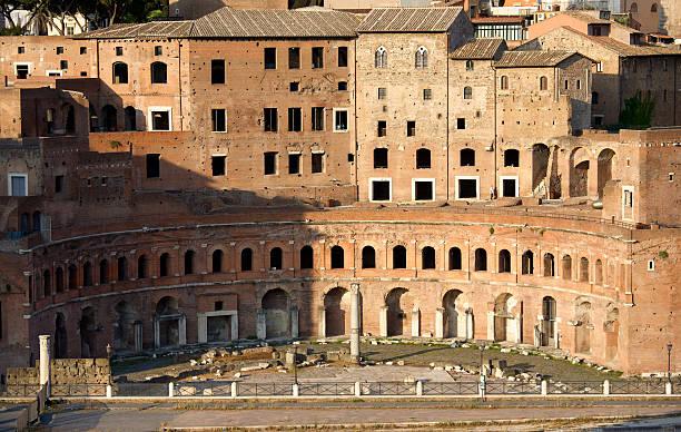 Mercato di Traiano Mercato di Traiano. Roman Forum. Rome, Italy. mercato stock pictures, royalty-free photos & images