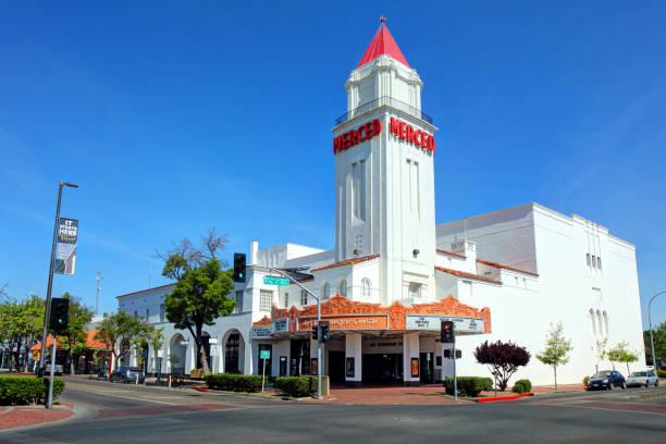 Merced, California stock photo