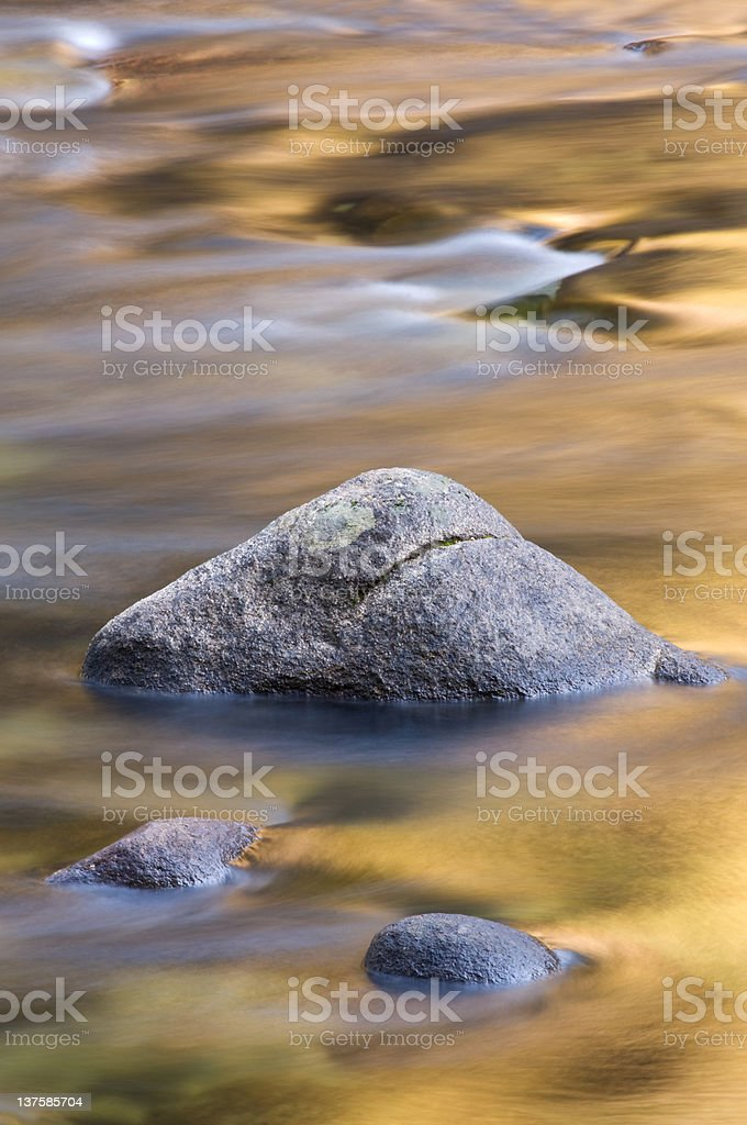 Merced River royalty-free stock photo