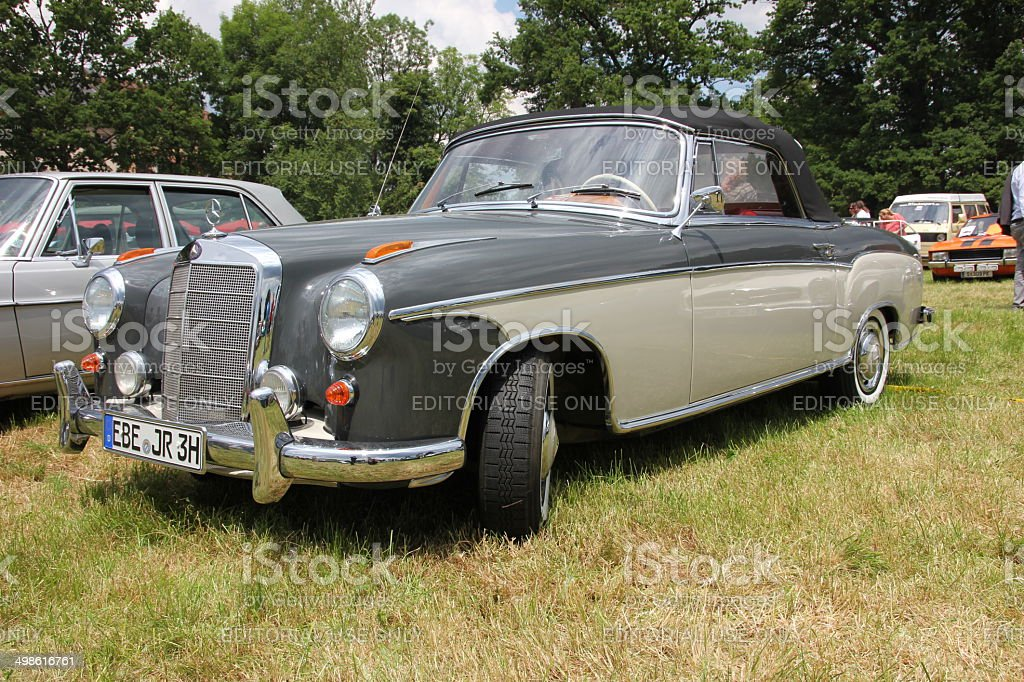 Mercedes 220 S Roadster royalty-free stock photo