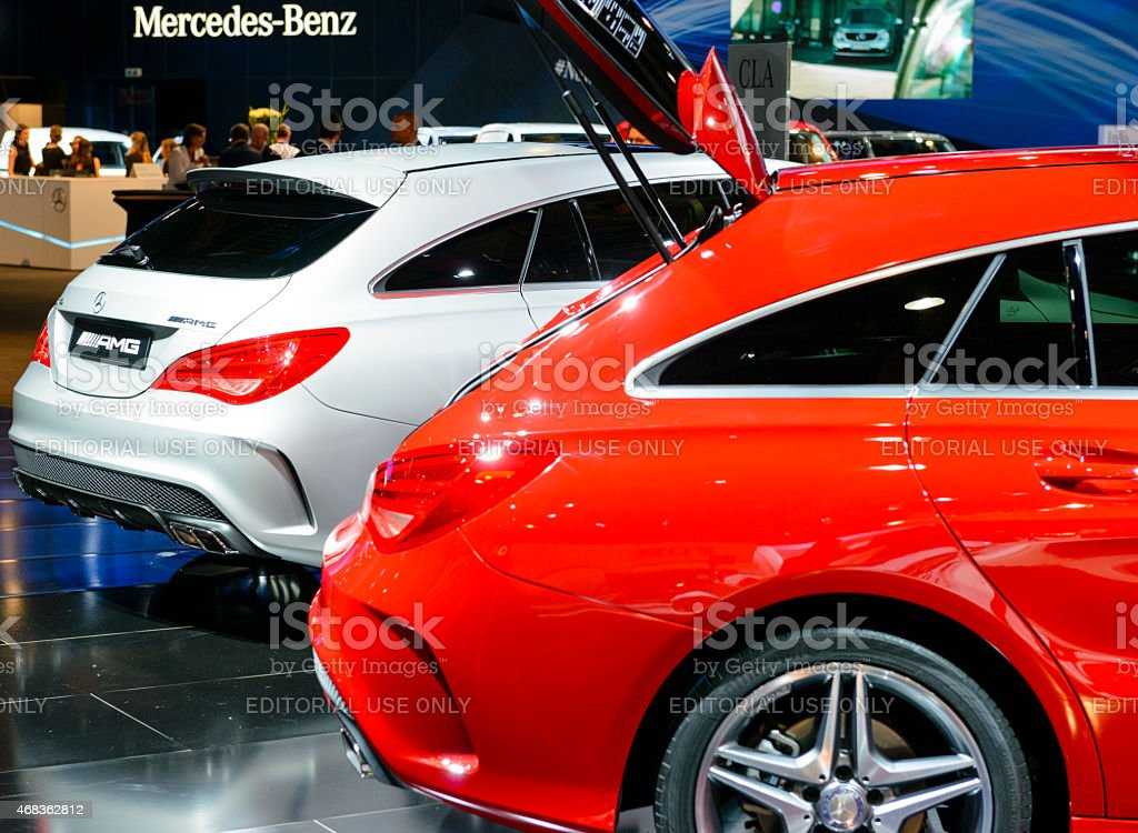 Mercedes Benz CLA Shooting Brake royalty-free stock photo