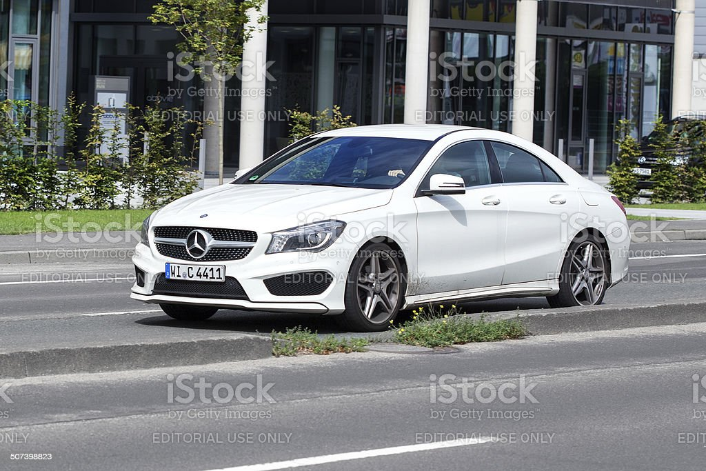 Mercedes Benz CLA-Class royalty-free stock photo