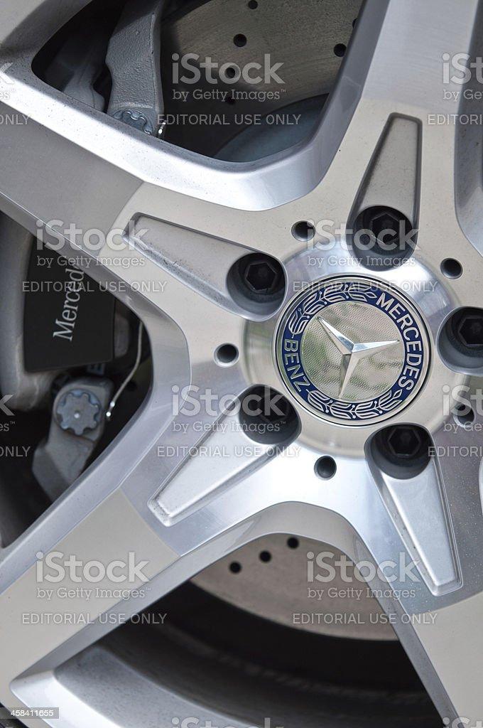 Mercedes Benz royalty-free stock photo