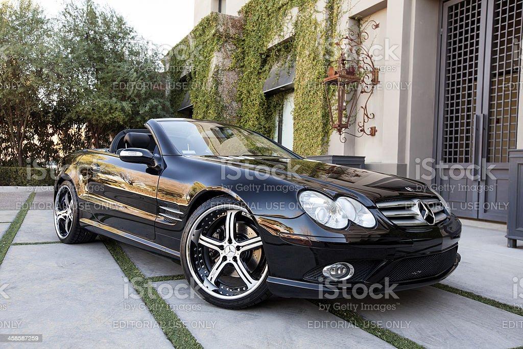 Mercedes Benz Sl550 2007 Stock Photo Download Image Now Istock
