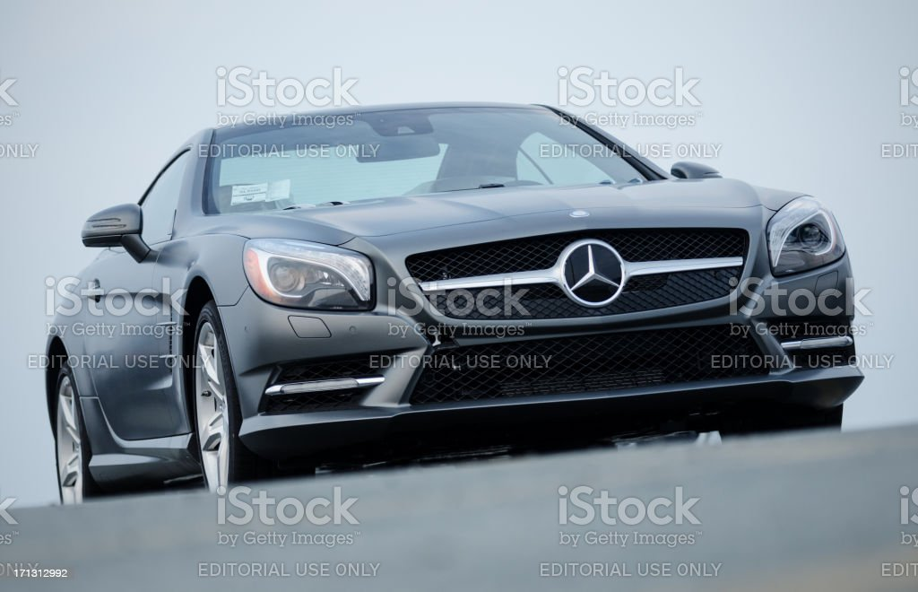 Mercedes Benz SL550 Roadster stock photo