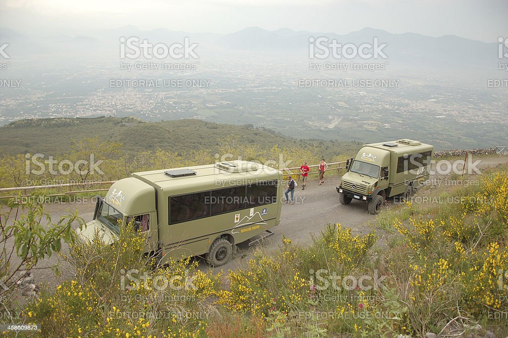 Mercedes Benz trucks royalty-free stock photo
