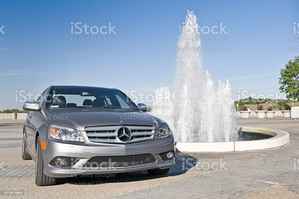 Mercedes C-Class stock photo
