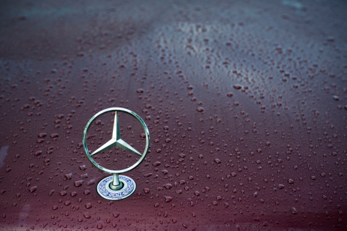 Mercedes Logo Stock Photo - Download Image Now