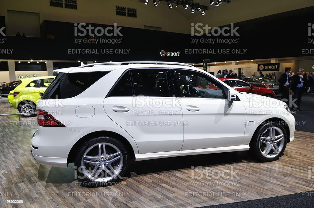 Mercedes M-class stock photo