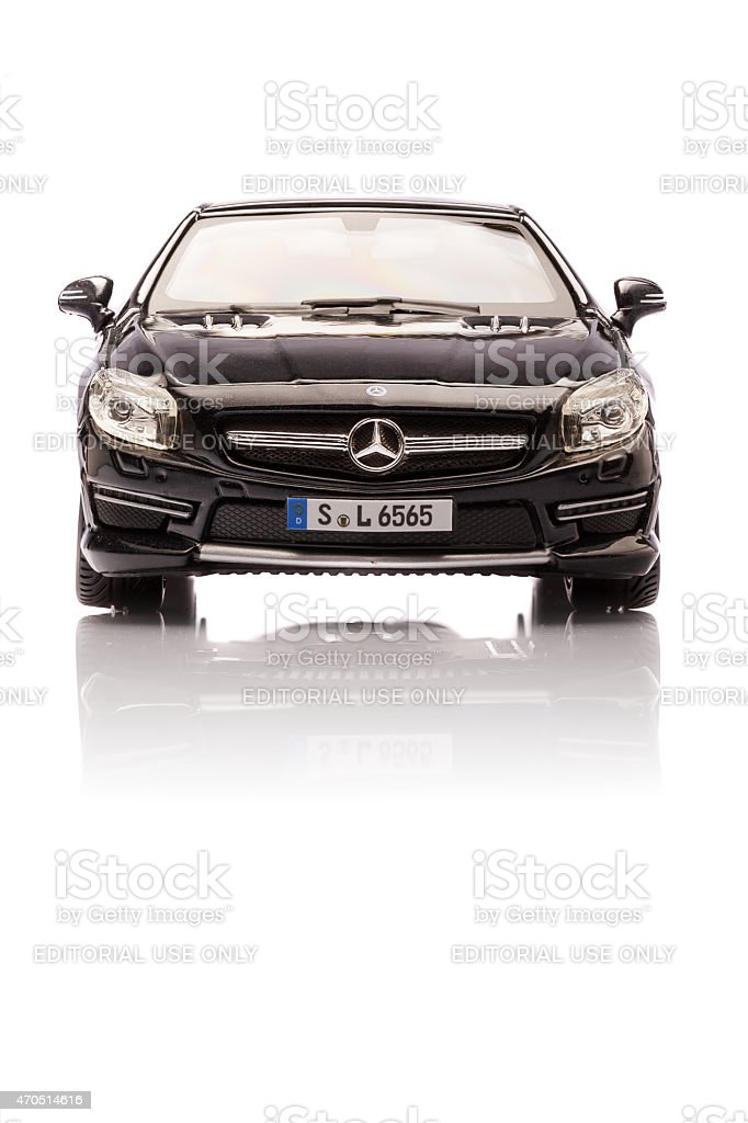Mercedes SL 65 AMG stock photo