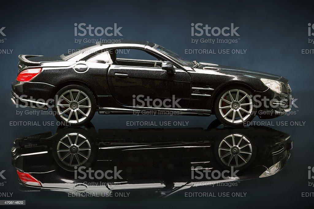 Mercedes SL 65 AMG stock photo