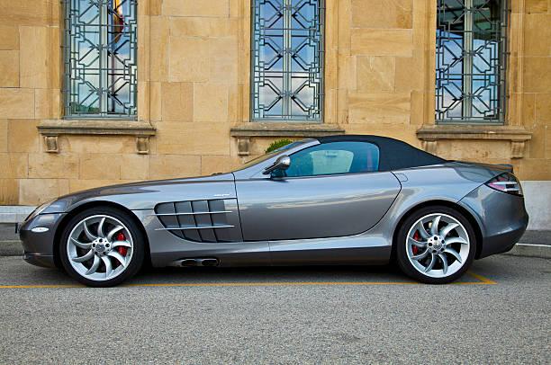 Mercedes SLR McLaren stock photo