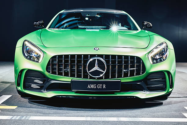 2017 Mercedes-AMG GT R stock photo