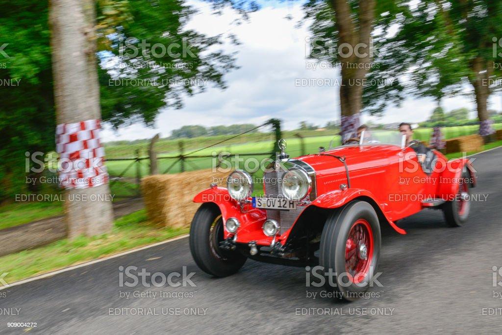 Mercedes-Benz 710 SS sports 1930 classic convertible car sports car....