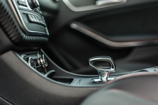 Mercedesbenz A 45 2014 Amg Interior Stock Photo - Download Image Now