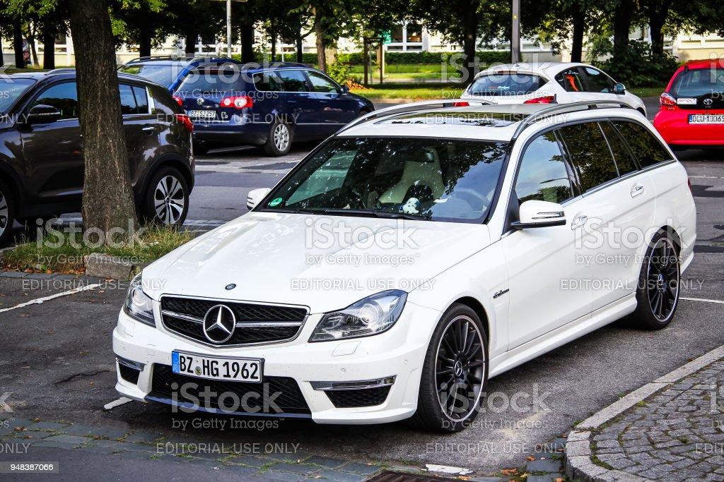 Mercedes-Benz C63 AMG (W204) stock photo