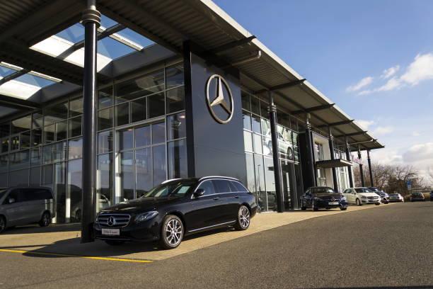 Mercedesbenz car in front of dealership in prague czech republic picture id645531412?b=1&k=6&m=645531412&s=612x612&w=0&h=zboncy6qfqvexq0j3hxeheszpc9xeya1ooatbv58ilg=