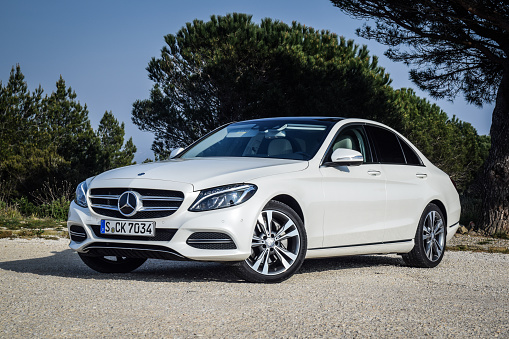 Mercedesbenz Cclass Stock Photo - Download Image Now