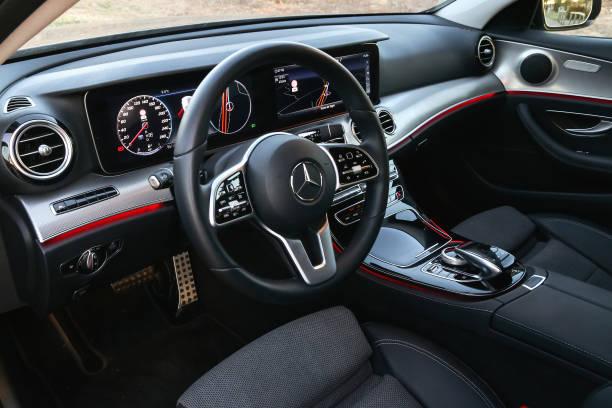 Mercedes-Benz E220d stock photo