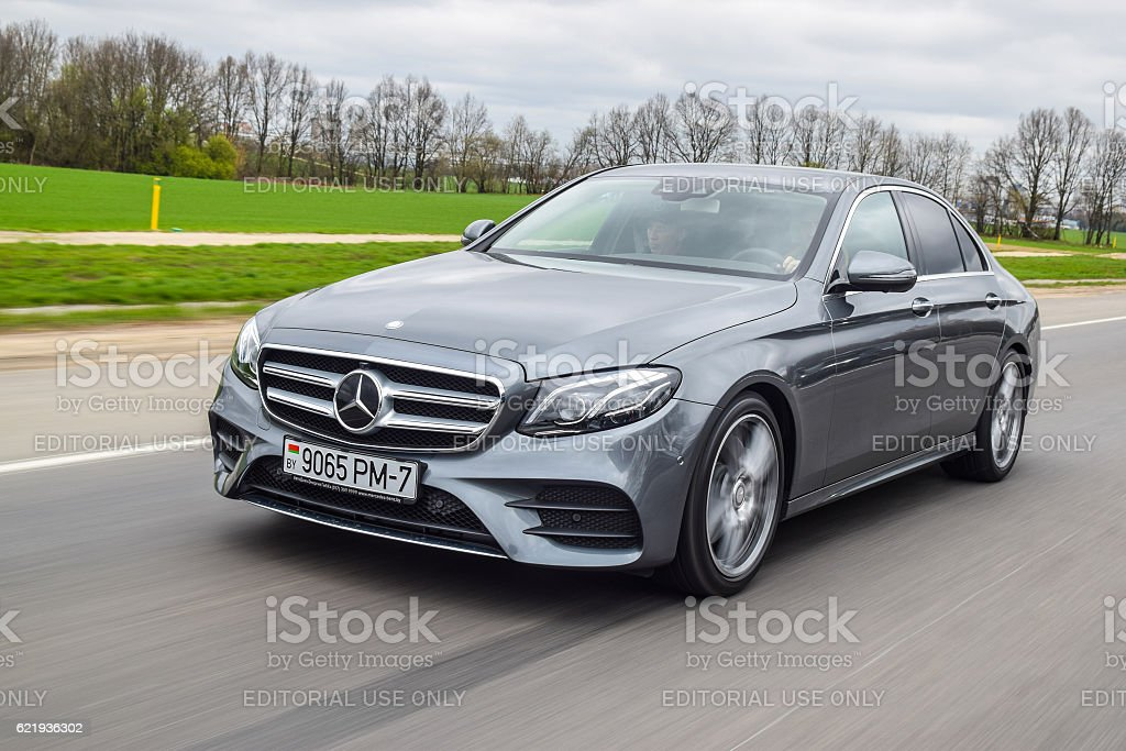 Mercedes-Benz E220d stock photo