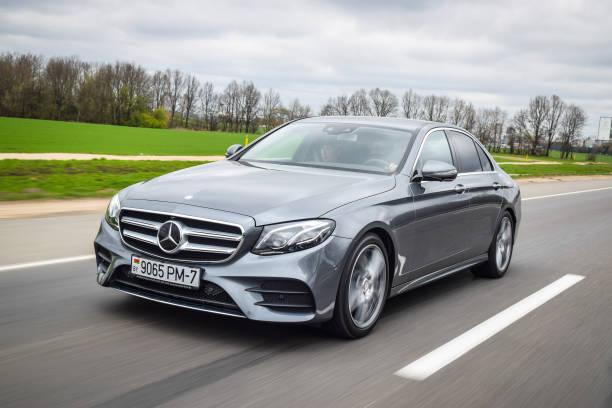 2016 Mercedes-Benz E-class stock photo