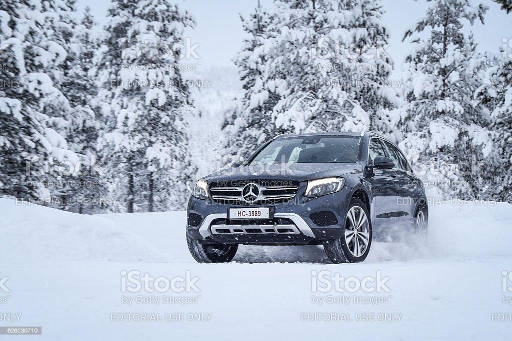 Mercedes-Benz GLC stock photo