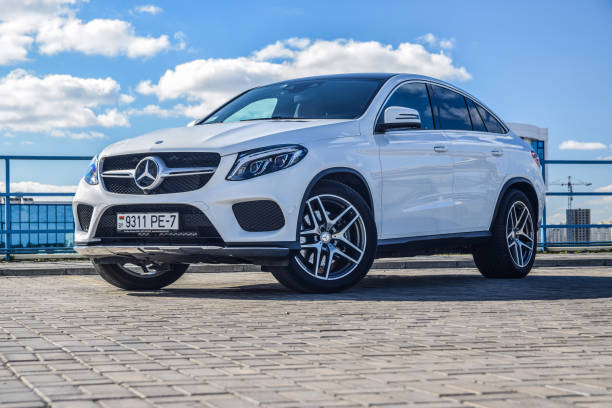 Mercedes-Benz GLE 43 4MATIC Coupe stock photo