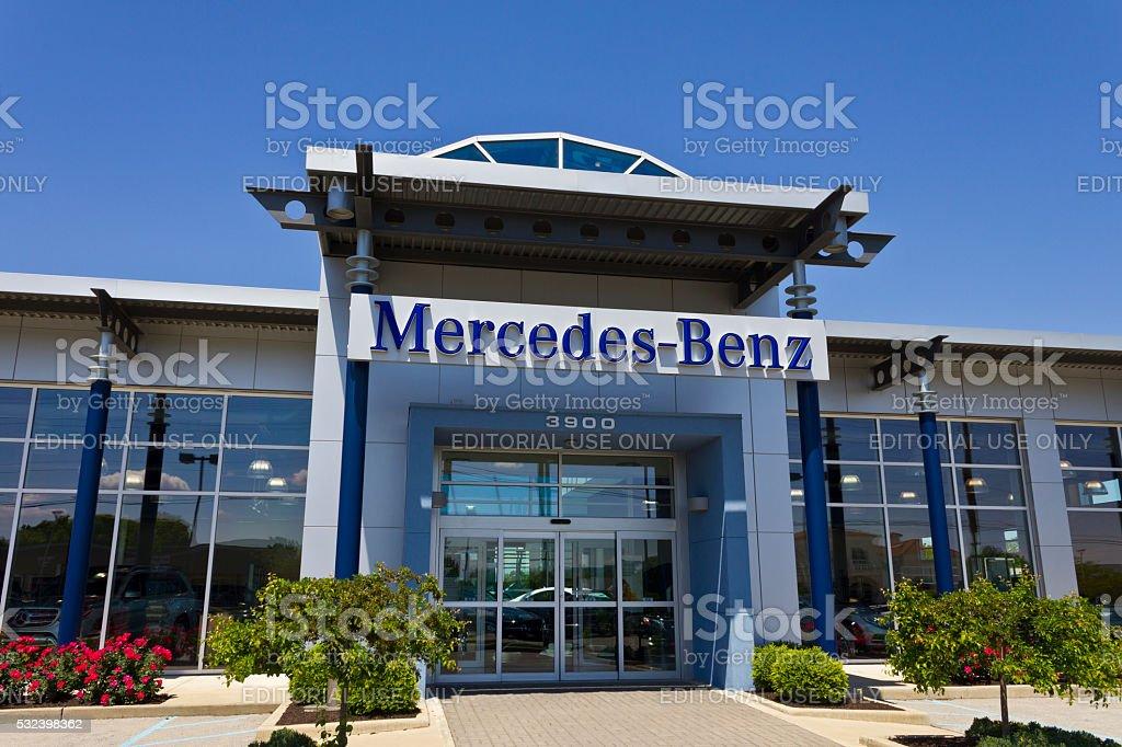Indianapolis - May 2016: Mercedes-Benz Luxury Car Dealership III stock photo