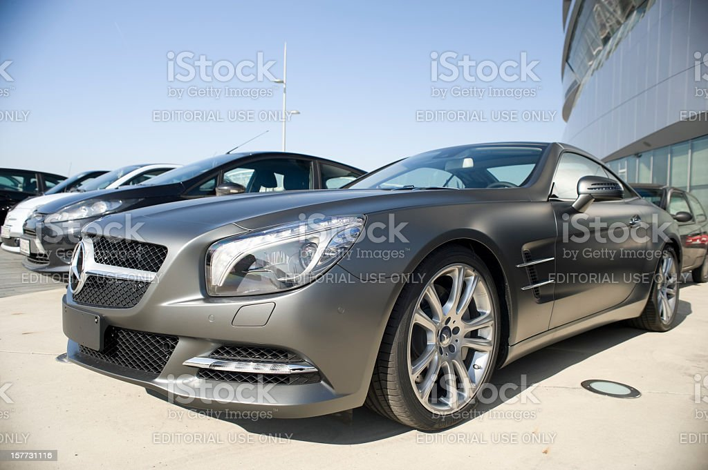 Mercedes-Benz SL 500 stock photo
