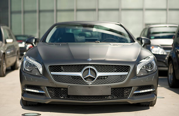 Mercedes-Benz SL 500  luxury car stock pictures, royalty-free photos & images