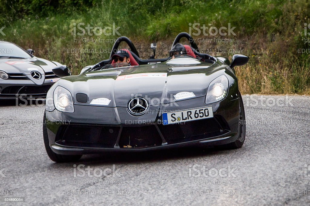 Mercedes-Benz SLR 300 stock photo
