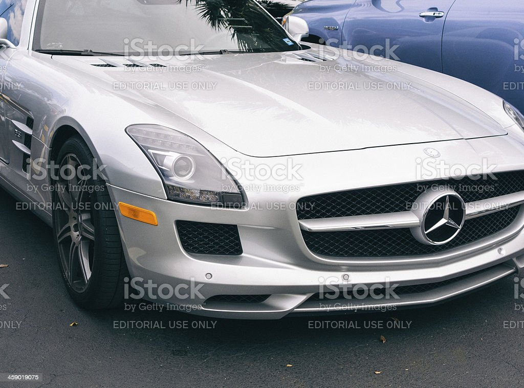 Mercedes-Benz SLS AMG GT Coupe stock photo