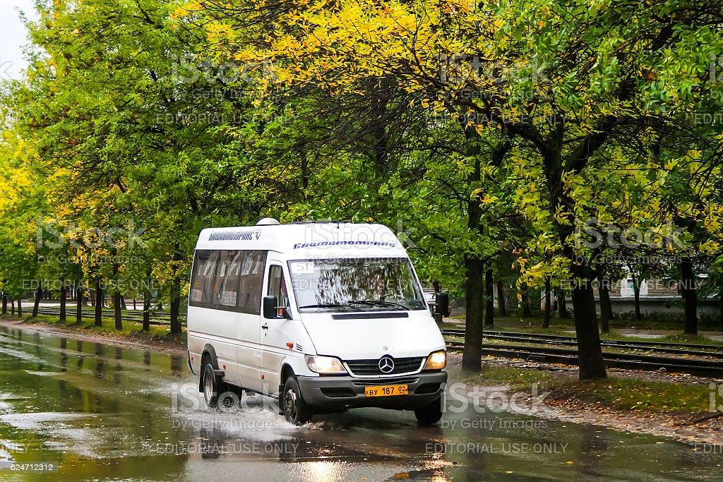 Mercedes-Benz Sprinter 413CDI stock photo