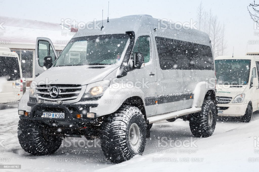 Foto De Mercedesbenz Sprinter Offroad Model E Mais Fotos De Stock De 4x4 Istock