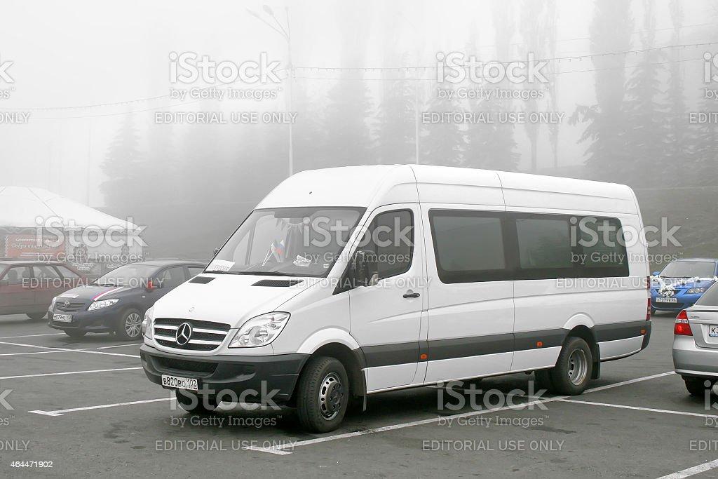 Mercedes-Benz Sprinter stock photo