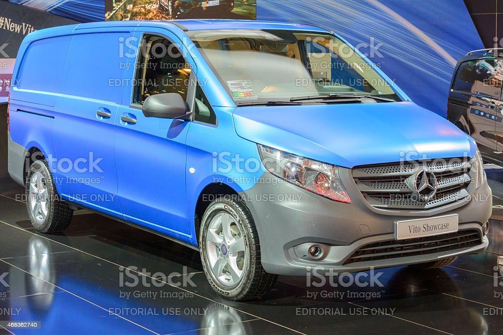 Mercedes-Benz Vito van light commercial vehicle royalty-free stock photo