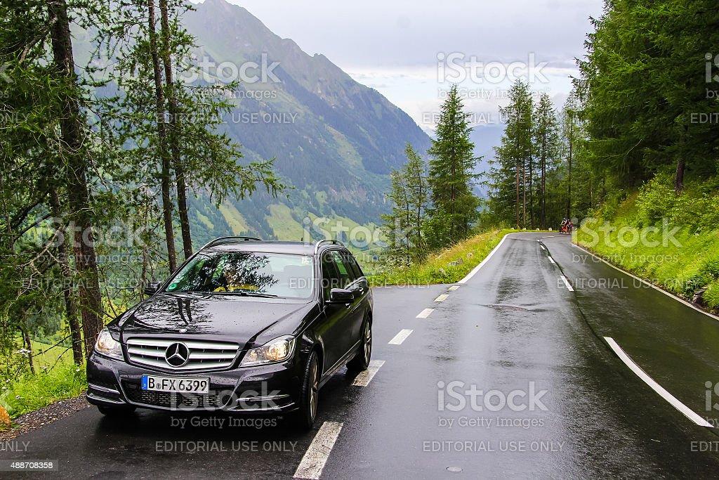Mercedes-Benz W204 C180 - foto de stock