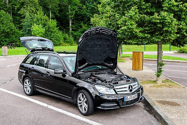Mercedes-Benz W204 C180 stock photo