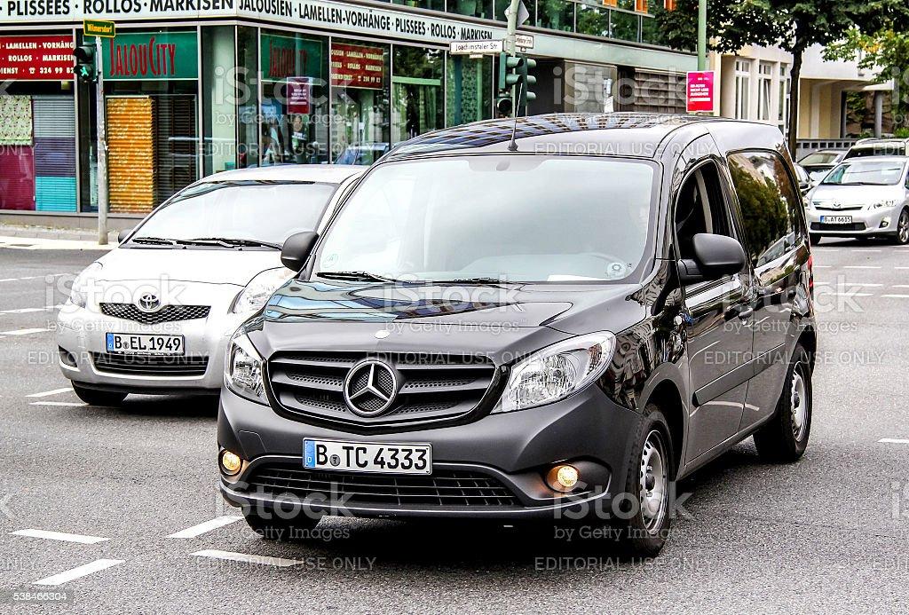 Mercedes-Benz W415 Citan stock photo